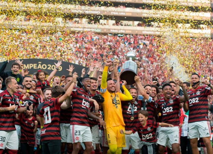 No mesmo fim de semana o Flamengo conquistou a Libertadores e o Brasileirão | Foto: Divulgação