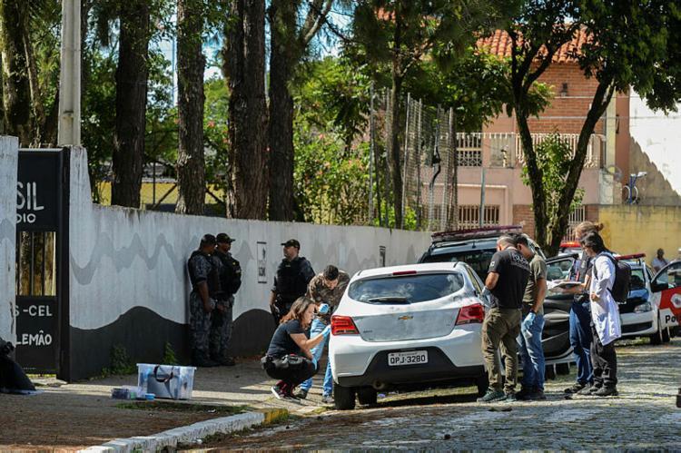 Ataque à escola em Suzano deixou 10 feridos | Foto: Rovena Rosa | Agência Brasil