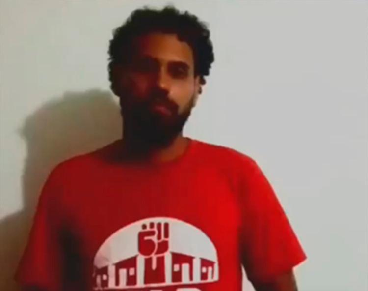 Líder do movimento sem-teto Victor Aircau usou as redes sociais para se pronunciar   Foto: Reprodução   Instagram - Foto: Reprodução   Instagram