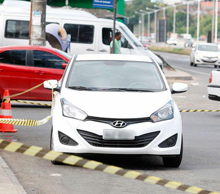 Carros roubados eram do modelo Hyndai HB20 | Edilson Lima | Ag. A TARDE - Foto: Edilson Lima | Ag. A TARDE