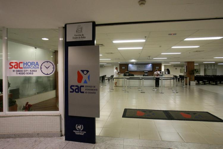 Com inaugurações, Rede SAC chega a 76 unidades | Foto: Margarida Neide | Ag. A TARDE - Foto: Margarida Neide | Ag. A TARDE