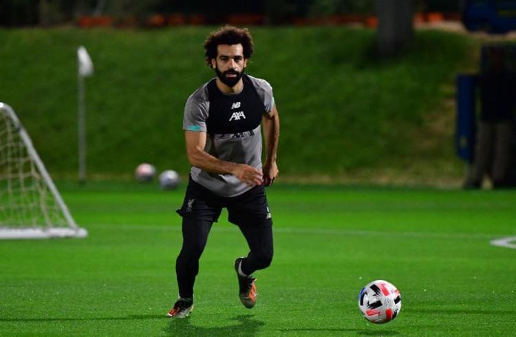 Salah está confirmado no ataque ao lado Mané e Firmino   Foto: Giuseppe Cacace   AFP - Foto: Giuseppe Cacace   AFP