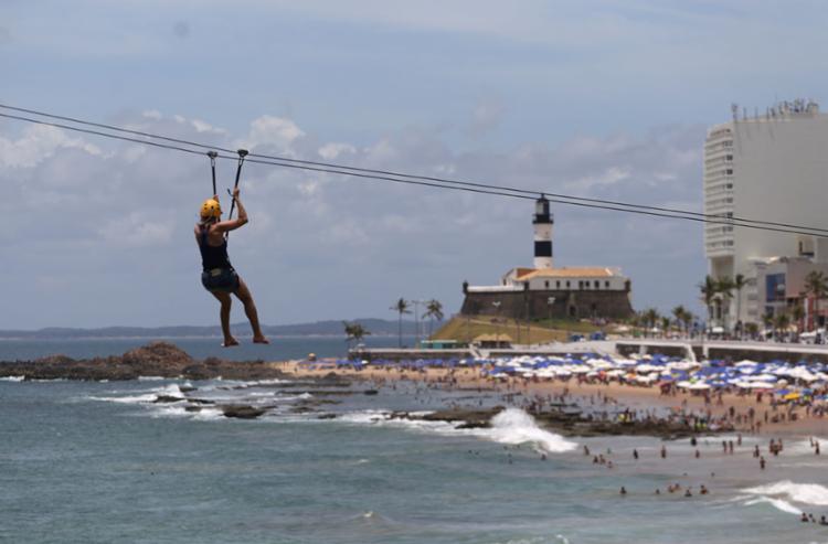 Objetivo é atrair cada vez mais turistas para a cidade | Foto: Raul Spinassé | Ag. A TARDE - Foto: Raul Spinassé | Ag. A TARDE