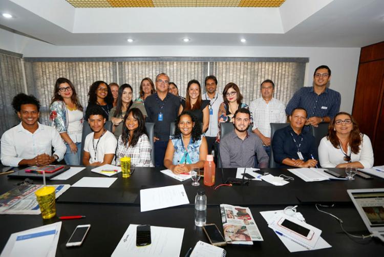 Curso foi realizado nesta quarta e quinta, no Grupo A TARDE   Foto: Rafael Martins   Ag. A TARDE - Foto: Rafael Martins   Ag. A TARDE