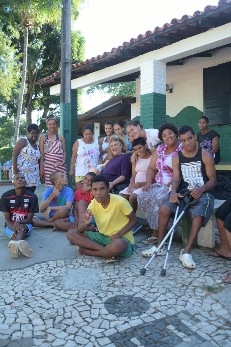 Os pacientes do Lar Vida podem ser adotados | Foto: Filipe Augusto | Ag. A TARDE - Foto: Filipe Augusto | Ag. A TARDE