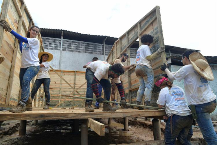 O projeto tem o intuito de mudar a vida das pessoas | Foto: Shirley Stolze | Ag. A TARDE - Foto: Shirley Stolze | Ag. A TARDE