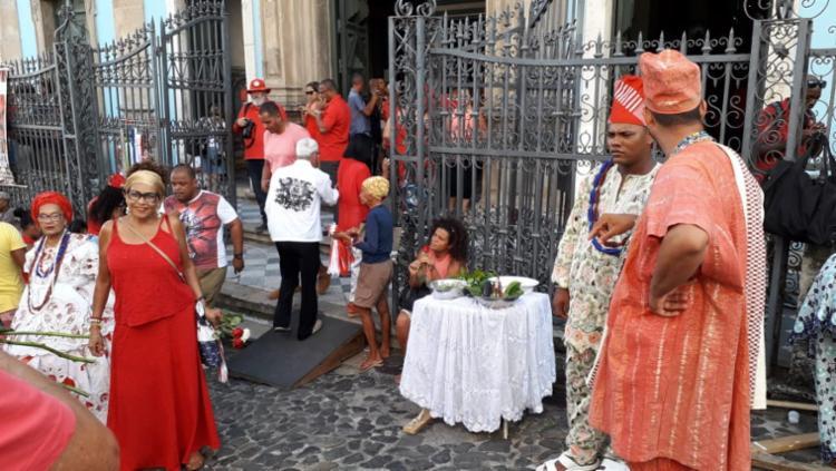 Celebração inicia o calendário de festas em Salvador   Foto: Thais Seixas   Ag. A Tarde - Foto: Thais Seixas   Ag. A Tarde
