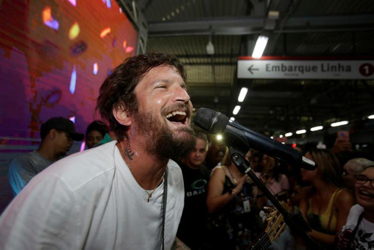 Saulo cantará para um público estimado em mil pessoas | Foto: Tiago Caldas | Ag. A TARDE - Foto: Tiago Caldas | Ag. A TARDE