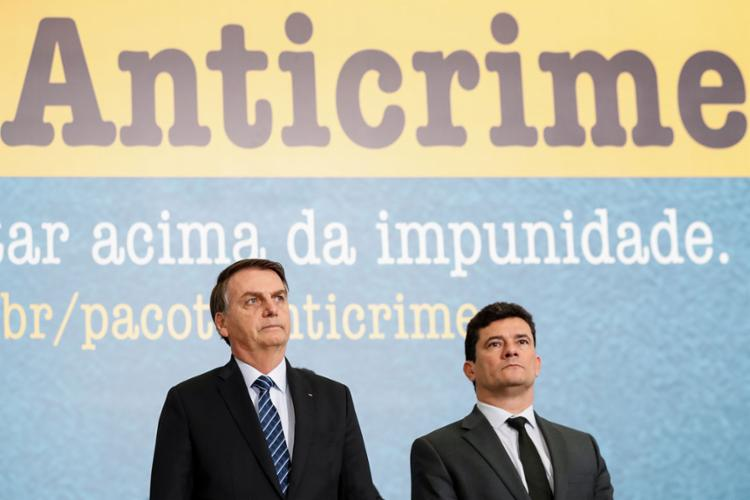 Projeto foi proposto pelo Ministro da Justiça Sérgio Moro | Alan Santos | PR - Foto: Alan Santos | PR