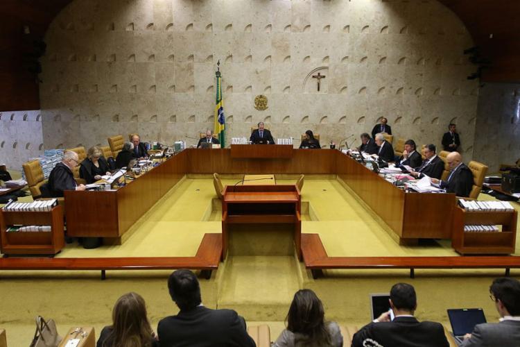 O julgamento deverá ser retomado na próxima quarta-feira, 18   Fabio Rodrigues Pozzebom   Agência Brasil - Foto: Fabio Rodrigues Pozzebom   Agência Brasil