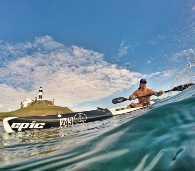 Esporte também é conhecido como Surfski | Foto: Tauã Andrade | Divulgação - Foto: Tauã Andrade | Divulgação