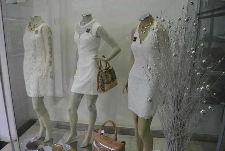 Vitrines adotam cor branca para atrair clientes | Foto: Divulgação - Foto: Divulgação