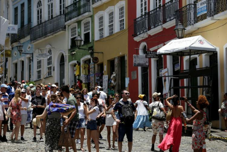 Centro Histórico é um dos pontos mais visitados da capital baiana | Foto: Joá Souza | Ag. A TARDE