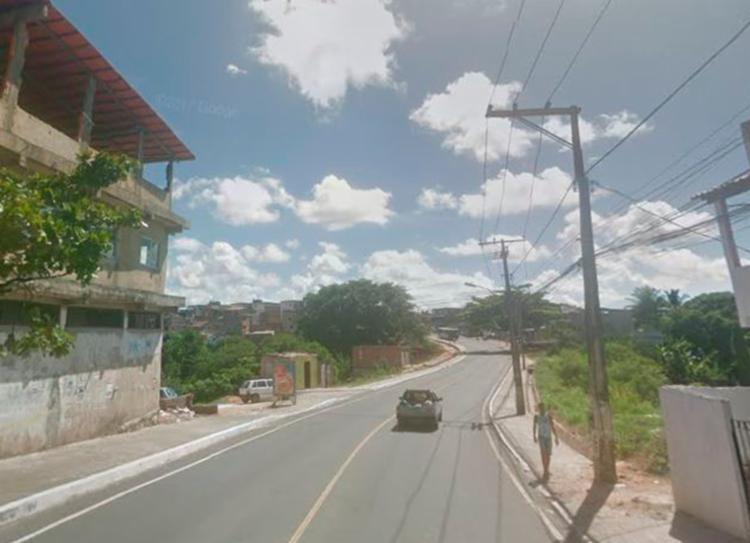 Acidente aconteceu por volta das 9h, na Rua Álvaro Franco Rocha | Foto: Reprodução | Google Street View - Foto: Reprodução | Google Street View