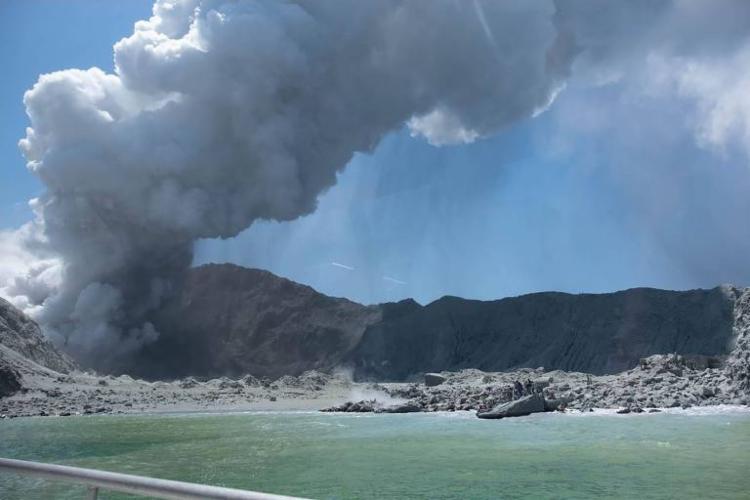 Turistas estavam no vulcão no momento da erupção | Foto: Michael Schade | AFP - Foto: Michael Schade | AFP