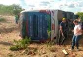Quatro pessoas morrem e várias ficam feridas após ônibus tombar na BR-116 | Foto: Reprodução | Calila Notícias