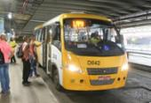 Ônibus 'Amarelinhos' que estiverem regularizados poderão operar com integração a partir de março | Foto: Luciano da Matta | Ag. A TARDE