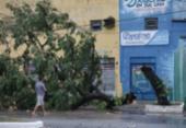 Confira imagens da chuva que atingiu a capital baiana no primeiro dia do ano | Foto: