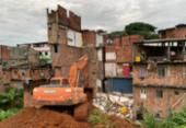 Edificações condenadas pela Codesal começam a ser demolidas em Narandiba | Foto: Divulgação | Secom