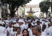 Cortejo leva milhares de fiéis em direção à Colina Sagrada | Foto: Uendel Galter | Ag. A TARDE