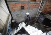 Prédio que desabou em Narandiba estava condenado pela Codesal | Foto: Felipe Iruatã | Ag. A TARDE