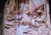 Prédio de cinco andares desaba no bairro de Narandiba | Foto: Reprodução