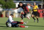 Time principal do Vitória vence jogo-treino contra o Bahia de Feira | Foto: Uendel Galter | Ag. A TARDE