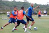 Com treino tático, Roger esboça Bahia para estreia no Nordestão | Foto: Felipe Oliveira | EC Bahia
