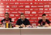 Júnior Viçosa e Maurício Ramos veem disputa saudável no Leão | Foto: Divulgação | EC Vitória