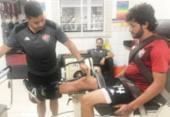 Fernando Neto inicia exames no Leão; Vico treina com bola | Foto: Divulgação | EC Vitória