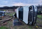 Tempestades e tornados deixam 11 mortos nos EUA | Foto: AFP