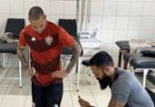 Gabriel Furtado chega e realiza exames na Toca do Leão | Foto: Divulgação | EC Vitória