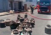 Duas pessoas ficam feridas após incêndio em fábrica de Vitória da Conquista | Foto: Reprodução | Blog do Anderson