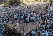 Queda de plataforma deixa dez mortos na Etiópia | Foto: Eduardo Soteras | AFP