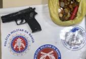 Homem é suspeito de assaltar supermercado com réplica de pistola | Foto: Divulgação | PM