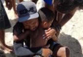 Menino perdido em praia é encontrado a 3 km de distância | Foto: Divulgação | SSP-BA