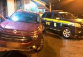 Motorista é preso com caminhonete roubada e documento falso na Bahia | Foto: Reprodução | PRF