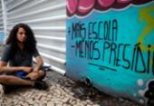 Estudantes protestam contra fechamento do Colégio Estadual Odorico Tavares | Foto: Felipe Iruatã | Ag. A TARDE