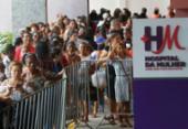 Hospital atende mais de mil mulheres em triagem | Foto: Rafael Martins | Ag. A TARDE
