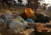 Campanha reduz lixo na praia no Verão | Foto: Raphael Müller | Ag. A TARDE