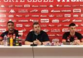 Júnior Viçosa e Maurício Ramos veem disputa saudável | Divulgação | EC Vitória