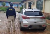 PRFs capturam foragido e recuperam veículo roubado   Divulgação   PRF