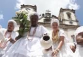 Baianas lavam escadas da Basílica do Senhor do Bonfim | Felipe Iruatã | Ag. A TARDE