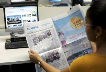 Com custo de R$ 2,50, A TARDE aumenta suas vendas de domingo | Foto: Raul Spinassé | Ag. A TARDE