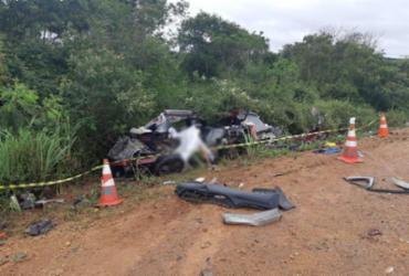 Quatro pessoas morrem em acidente na BR-116 | Divulgação | PRF