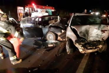 Motoristas morrem em colisão de veículos no interior da Bahia | Reprodução | Teixeira Hoje