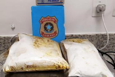 Passageiro é preso ao tentar embarcar com 2 quilos de cocaína no aeroporto de Salvador | Divulgação | PF