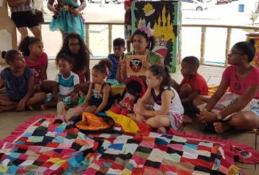 Exemplo de determinação: educadora baiana incentiva leitura em projeto infantil