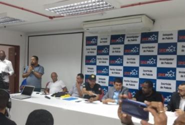 Com indicativo de greve, policiais civis e penais apontam 'discriminação' em PEC | Jaqueline Suzarte | Ag. A TARDE