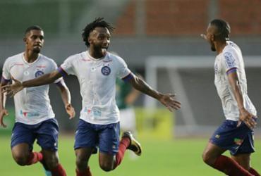 Bahia joga bem, bate o Conquista e vence a primeira na temporada | Raul Spinassé | Ag. A TARDE